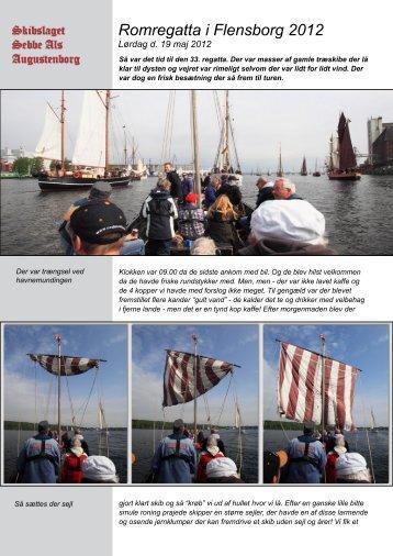 Romregatta i Flensborg 2012 - Sebbe Als