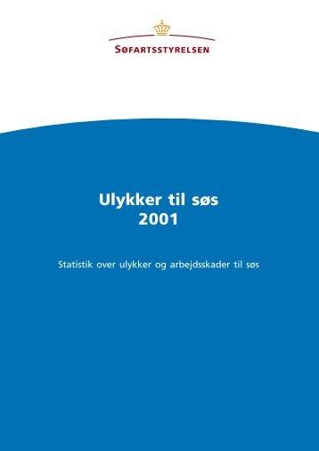 Ulykker til søs 2001 - Søfartsstyrelsen