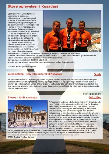 Store oplevelser i Kusadasi 1 - Scanway /Tyrkiet Eksperten