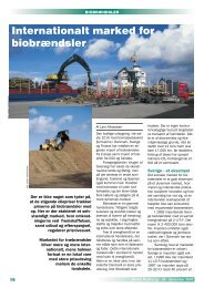 Internationalt marked for biobrændsler (Dansk BioEnergi, 54, 2000)