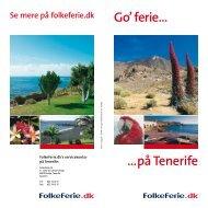 …på Tenerife Go' ferie… - FolkeFerie.dk