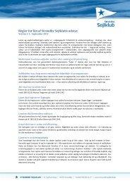 Regler for lån af Strandby Sejlklubs udstyr, - Vild med Vand