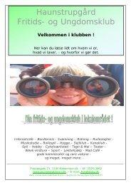 Haunstrupgård Fritids- og Ungdomsklub - Pumpestationen