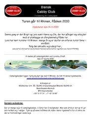 Tur til Rhinen - Dansk Cabby