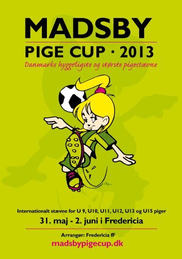 Kampprogram 2013 - Madsby Pige Cup