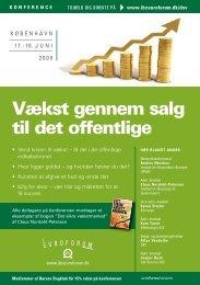 Vækst gennem salg til det offentlige - IBC Euroforum