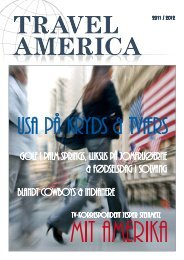 Travel America Stand By Magasine 2012 - Discover America Denmark