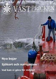Sjökort och navigation Nya bojar - Västkustkretsen