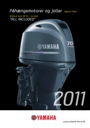 Yamaha Motorer - West Marine A/S
