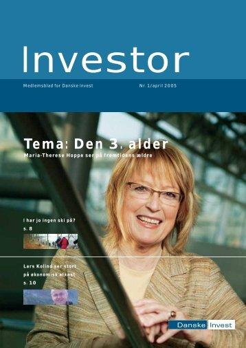 Tema: Den 3. alder - Danske Invest