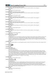 Uge 12, mandag 18. mar 2013 - Dr