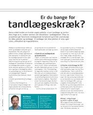 2010-05 Er du bange for tandlægeskræk - De Offentlige Tandlæger