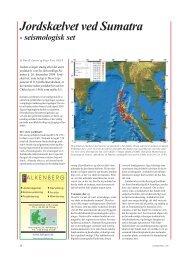 Geologisk Nyt 1, 2005, Jordskælvet ved Sumatra ... - Geus