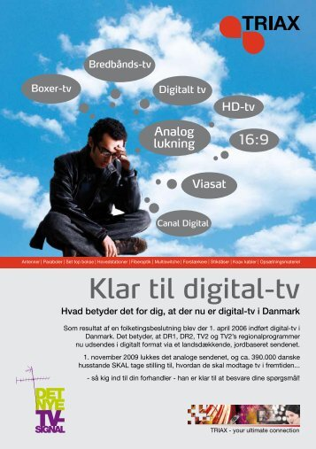 Klar til digital-tv - Triax