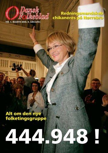 Alt om den nye folketingsgruppe Alt om den nye ... - Dansk Folkeparti