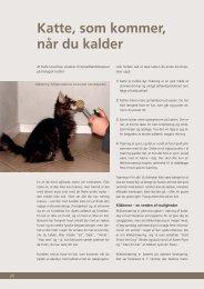 Katte, som kommer, når du kalder - Felis Danica