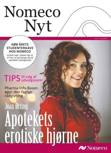Joan Ørting: - Nomeco A/S