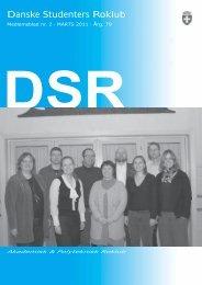 Marts 2011 - Danske Studenters Roklub