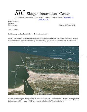 Totalløsning Jyske Vestkyst - Skagen Innovation Center