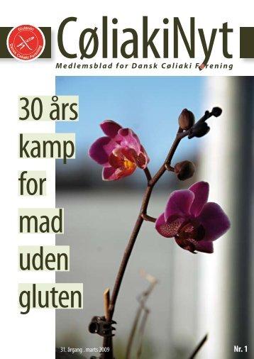 Medlemsblad for Dansk Cøliaki Forening - Freelancejournalist ...