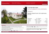 Salgsopstilling for 4203 - RobinHus-mægler Peter Kjær. Køb & Salg af