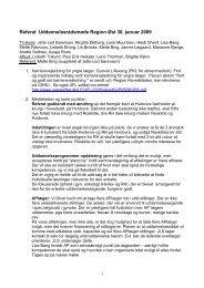 Referat fra møde 30. januar 2009 - DSOG