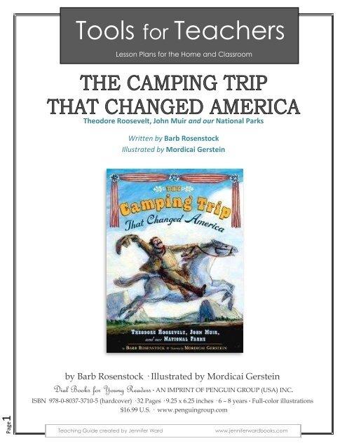 e13b1d6246f The Camping Trip that Changed America - Barb Rosenstock