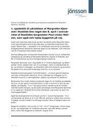 1. spadestik til udvidelsen af Margrethe Hjem- met i Roskilde blev ...