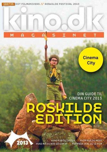 Læs kino.dk-magasinet - Roskilde Edition som pdf.
