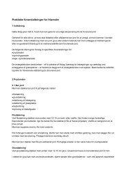 Praktiske foranstaltninger for friarealer - Odder kommune