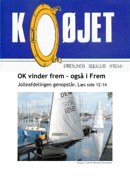Nr. 5/2010 - Øresunds Sejlklub Frem