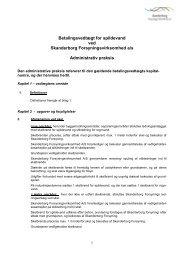 Betalingsvedtægt for spildevand ved Skanderborg ...