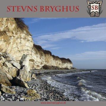 Se vores PDF folder - Stevns Bryghus