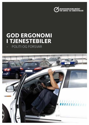God erGonomi i tjenestebiler - BAR - service og tjenesteydelser.