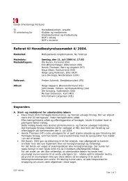 HB møde 4/2004 - Dansk Orienterings-Forbund