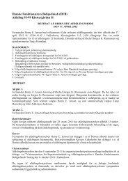 referat af afdelingsmøde 01-2012 - Domea