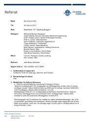 Referat fra Det Grønne Råds møde den 28-02-2013 - Aalborg ...