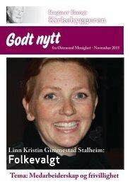 Godt nytt 3/2011 November - Østenstad menighet