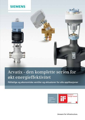 Akvatix ventiler og motorer - Siemens AS