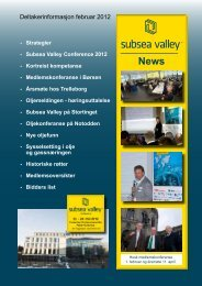 Subsea Valley Conference 2012