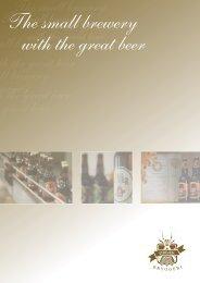 The small brewery with the great beer - Ein Herz für Bio