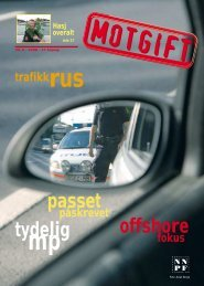 Nr 3/2008 - Norsk Narkotikapolitiforening