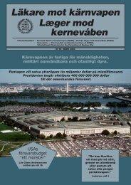 LMK 89 x - Svenska Läkare mot Kärnvapen