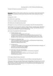 Protokoll från föräldraföreningens styrelsemöte 11/5-2011 - Buf