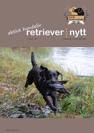 Retrievernytt nr 4 2011 - Norsk Retrieverklubb