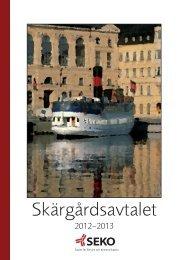 Skärgårdsavtalet 2012-2013 - Seko