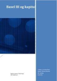 Basel III og kapitaldækning - IBC