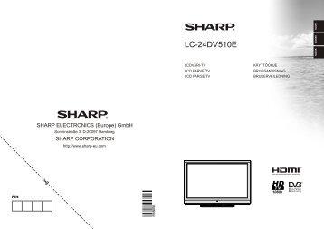 LC-24DV510E Operation-Manual NO DK FI - Sharp