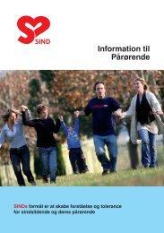 Information til Pårørende - Landsforeningen Sind