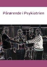 Pårørende i Psykiatrien - CFK Folkesundhed og Kvalitetsudvikling ...